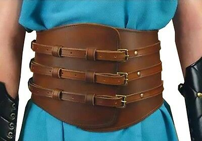 Roman Kidney Leather Belt, S/M, L/XL, Assassins Creed, Gladiator,  LARP, COSPLAY