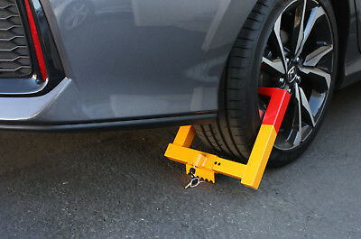 """7"""" - 12"""" Anti-Theft Towing Wheel Lock Clamp Boot Tire Claw Car Truck RV Trailer"""