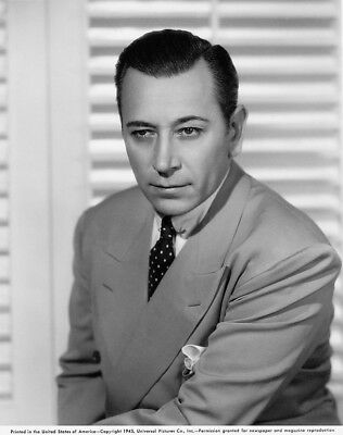 George Raft - Background to Danger (1943) - 8 1/2 x 11