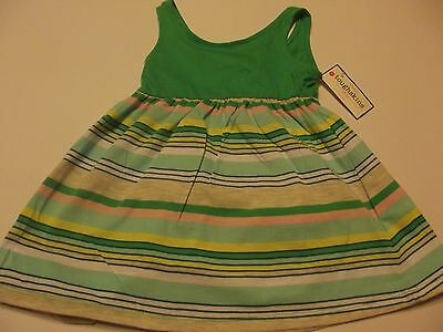 tough skins girl dress size 18months new with tag 100% cotton sleeveless