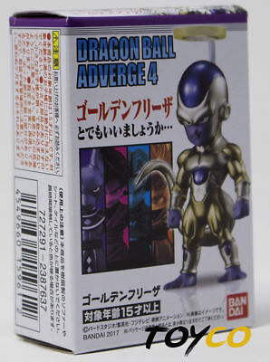 New US Dragon Ball Z Super Adverge Vol. 4 Golden Frieza Mini Action Figure