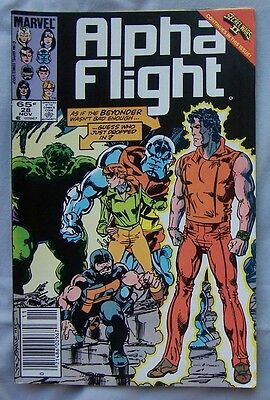 Alpha Flight #28 (Nov 1985, Marvel)