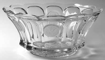 """Fostoria COIN GLASS CLEAR 14 3/4"""" Punch Bowl 145459"""