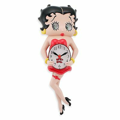Betty Boop Animated Wall Clock by NJCroce ~ New in Box!