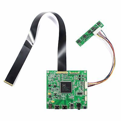 "HDMI DP LCD Contoller Board Work For 4K 15.6"" NV156QUM 3840x2160 LCD Screen"