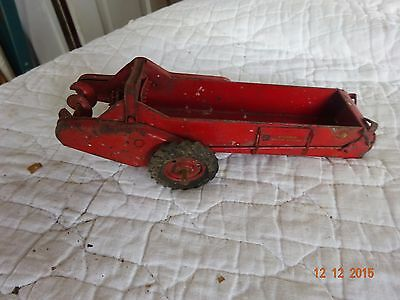 Vintage McCormick Tractor Spreader  *Collectible Farm Toy- Metal* Parts/Repair
