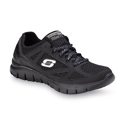 12128 black Skechers Women/'s Royal Forward Memory Foam Relaxed Fit Athletic