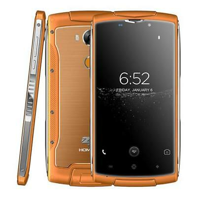 "Wasserdicht HOMTOM ZOJI Z7 4G Handy Smartphone 5.0"" Quad Core 2GB+16GB Orange DE"