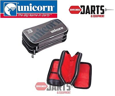 Unicorn 3D large Darts Case / Wallet with 3 extra large zipped compartments