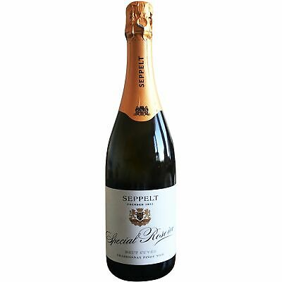 PRICE DROP! RRP149!  Special Reserve Brut Cuvee Sparkling Chard Pinot (6x750ml)