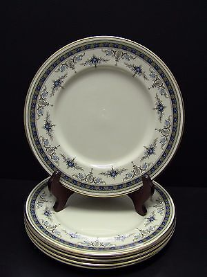 Minton GRASMERE BLUE Dinner Plates / Set of 6