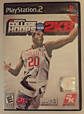 College Hoops 2K8 (Sony PlayStation 2, 2007) Basketball - PS2 Complete