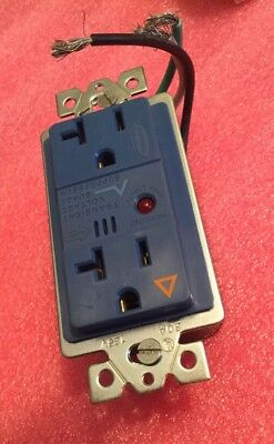 Hubbell IG5352S Circuit Guard Surge Receptacle 20A 125V