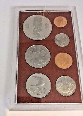 1974 Cook Islands 7 Pc Coin Set
