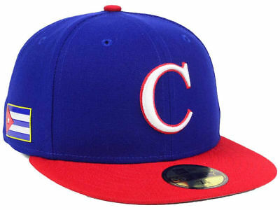 000ae9f23f3 World Baseball Classic Team Cuba New Era 59Fifty Fitted Wbc On Field Hat cap  Nwt