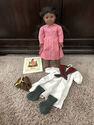 American Girl Pleasant Company Historical Addy Doll Meet Outfit Lot RETIRED