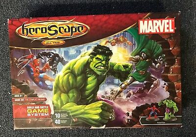 Marvel Heroscape New In Factory Sealed Box The Conflict Begins