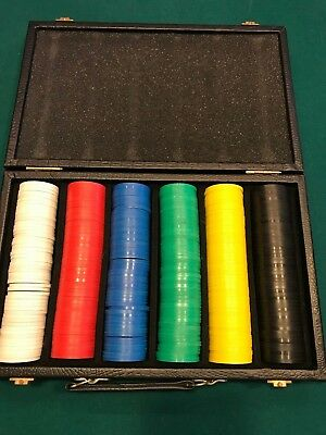 300 Super Diamond Poker Chips in Vinyl Case