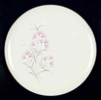 Taylor Smith & Taylor PINK THISTLES Dinner Plate S728589G2
