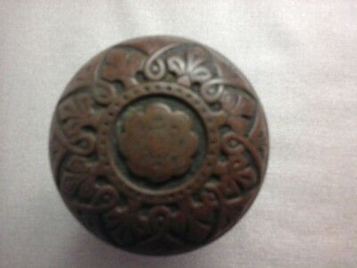Antique Eastlake Brass Door Knob