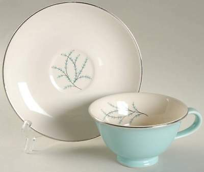 Taylor Smith & Taylor BLUE TWIG Cup & Saucer 726495