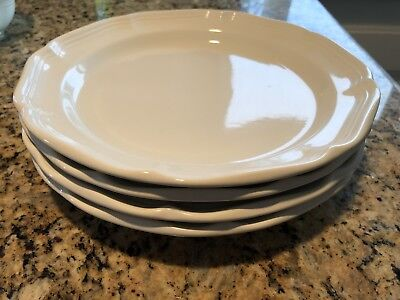 Set of 4 Mikasa French Countryside F9000 Dinner Plates 10 7/8u201d & SET OF 4 Mikasa French Countryside F9000 Dinner Plates 10 7/8 ...