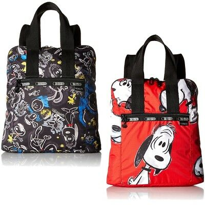 LeSportsac Peanuts Snoopy X Women's Classic Everyday Backpack Bag