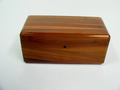 Vintage Lane Small Wood Cedar Chest Box - Peoples Furniture Co. - No Key