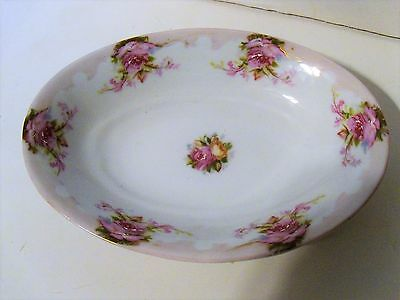 Silesia Germany oval dish 1938 Roses