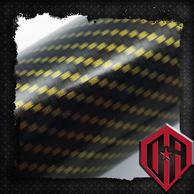 Hydrographic Water Transfer Hydrodip Film Hydro Dip Gold Tile Weave Carbon Fiber