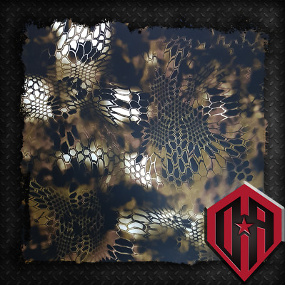 Hydrographic Water Transfer Hydrodip Hydro Camouflage Camo Kryptek Green Olive