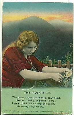 POSTCARD SONG CARDS  The Rosary (1)