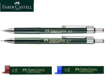 Faber Castell TK Fine Mechanical Pencil 0.5mm 0.7mm / HB Leads