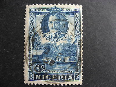 NIGERIA Sc 42a used, with internal cancel caused tear (see pics), presentable!