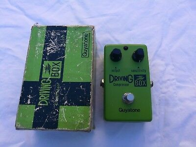 Vintage Guyatone Ps-103 Driving Box Compressor - Free Next Day Delivery Uk