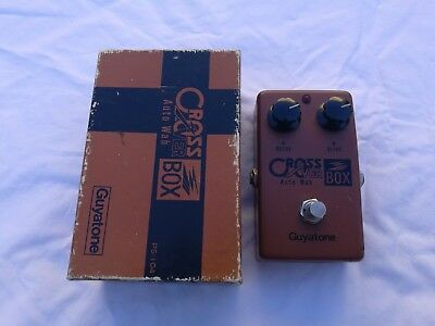 Vintage Guyatone Ps-104 Cross Box Auto Wah - Free Next Day Delivery In The Uk