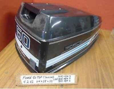 Force Bayliner Tracker Hood Cover Cowling Cowl 40HP 50HP 40 50 hp 819748A 6