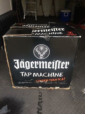 NEW Jagermeister 3 Bottle Tap Machine