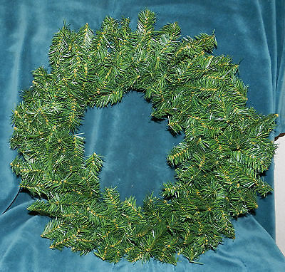 """Nice 22"""" Artificial Pine Wreath! Ready To Decorate!! Christmas!! #2"""