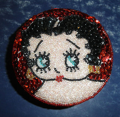 Betty Boop Sequin Box- #23004- New-  RETIRED