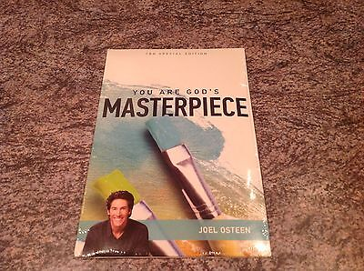 Joel Osteen You Are God's MASTERPIECE CD/DVD SET NEW SEALED TBN SPECIAL EDITION
