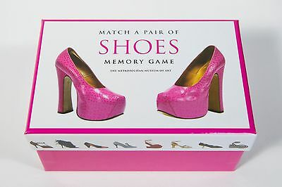 Match a Pair of Shoes Memory Game Metropolitan Museum of Art- bachelorette NEW