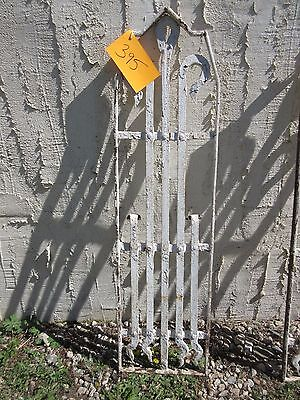 Antique Victorian Iron Gate Window Garden Fence Architectural Salvage Door #395