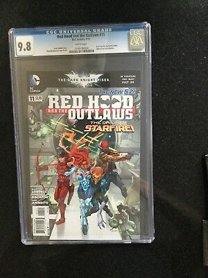 RED HOOD AND THE OUTLAWS # 11 / The new 52! / CGC 9.8 / Sept 2012 / DC COMICS