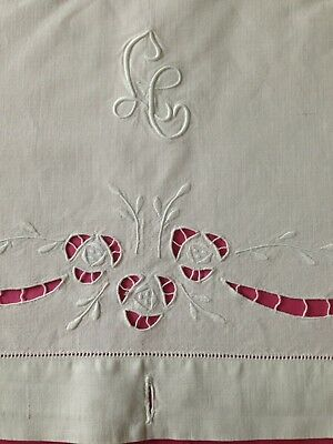 Pretty Trousseau Metis Sheet/Coverlet, 56 x 90
