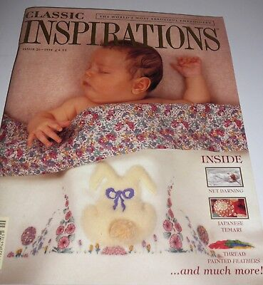 Classic Inspirations Embroidery Magazine #20 Net Darning Gardens of Thread