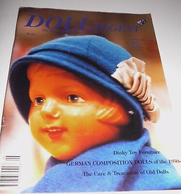 Australian Doll Digest Issue # 62 April - May 1996  Dinky Toy Furniture
