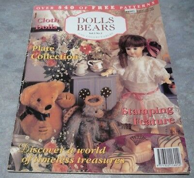 Australian Dolls, Bears and Collectables Vol. 3 No. 3 doll dressing