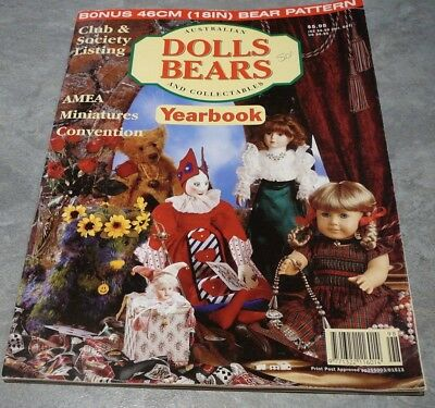 Australian Dolls, Bears and Collectables Vol. 4 No. 5 Year book Outfits Making