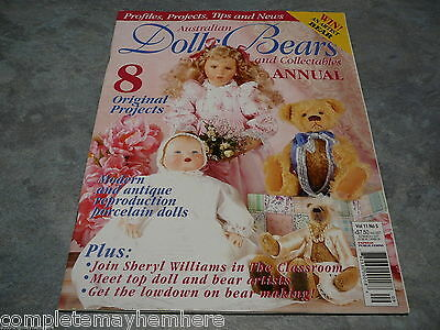 Australian Dolls, Bears and Collectables Vol. 11 No. 5 Annual bear mohair info